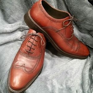 Other - Mashad Leather Mens Brown Oxford Wingtip Shoes